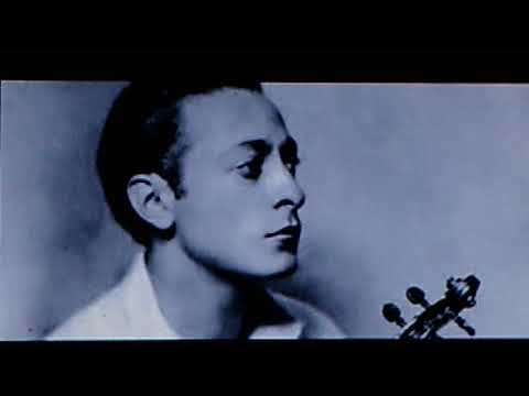 "Jascha Heifetz, W./André Benoist, Piano:  ""Paganini - Caprice"" (arranged By Fritz Kreisler)  (1918)"