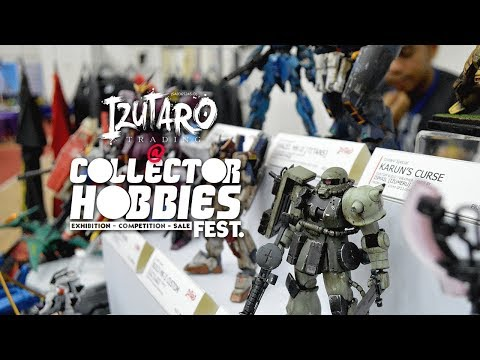 Izutaro at Kulim's Collector Hobbies Fest 2017