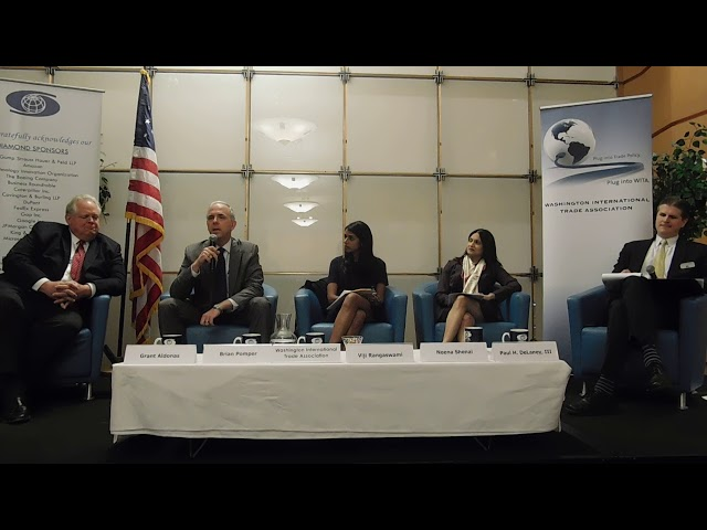 4/18/18 Trade Counsels and the Role of Congress in Formulating U.S. Trade Policy Part 1
