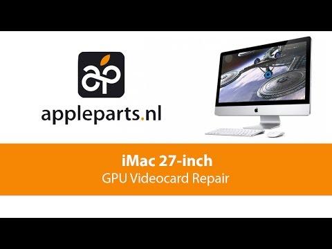 Apple Parts   iMac 27-inch (A1419) GPU/Videocard Repair