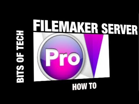 Filemaker Server / Sharing: how to setup (Bits of Tech)