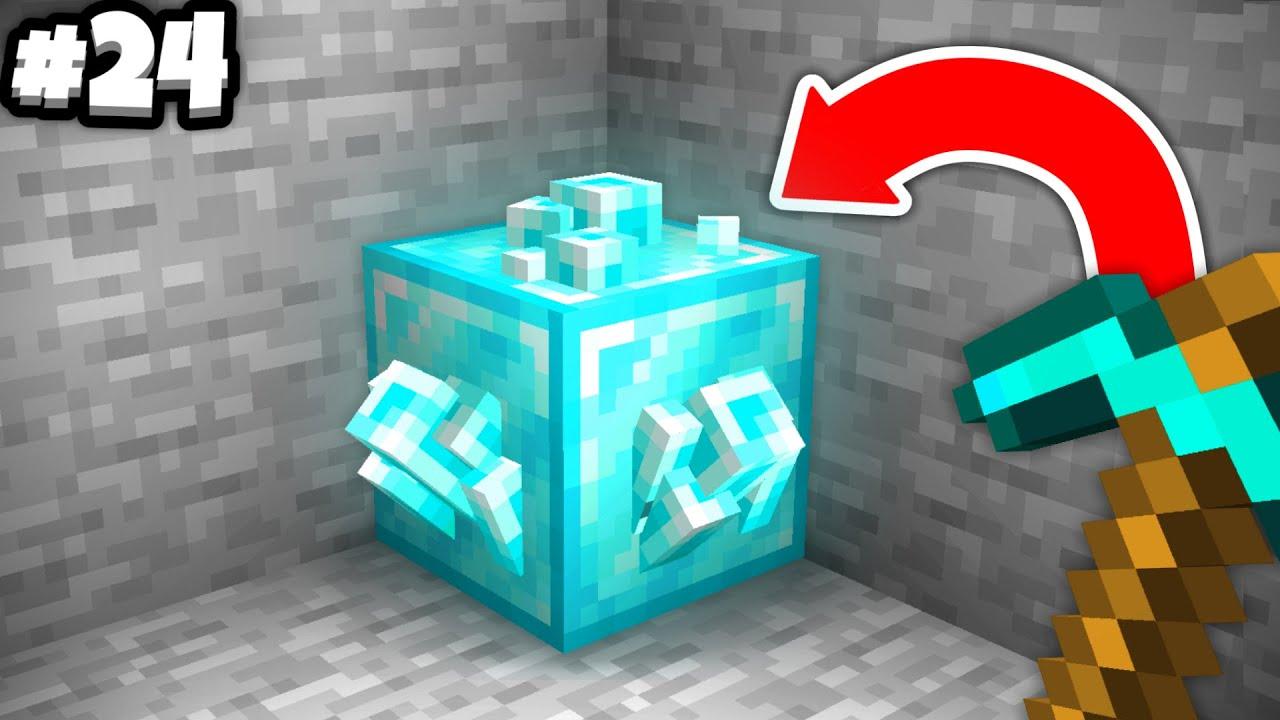 Objevil jsem ZÁHADNÝ BLOCK... (Minecraft 1.17)