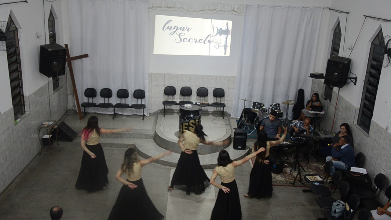 Coreografia Lugar Secreto (Meninas Dos Olhos De Deus