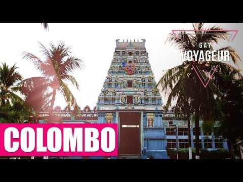 Colombo (Sri Lanka) : tourist guide in english - video guide tour in 4K