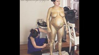 Nude Mature pregnant