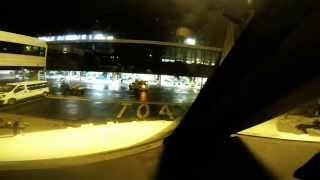gran canaria night landing runway 03l go pro hero 3