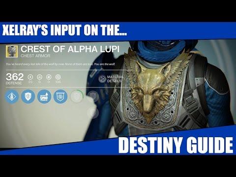 Destiny - Crest Of Alpha Lupi (Hunter) - Guide And Info. Exotics Episode 25