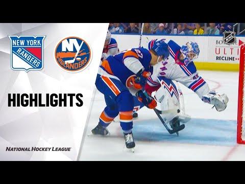09/28/19 Condensed Game: Rangers @ Islanders