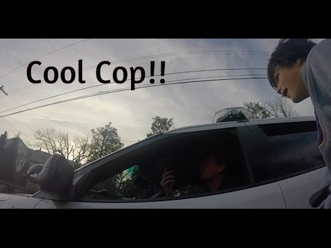 COOLEST COP EVER!!!/ Bike Session/Drone Footage/Very long Wheelies!!!!