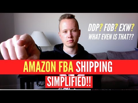 How To Ship To Amazon FBA SIMPLIFIED! EVERYTHING EXPLAINED!! No More Confusion!
