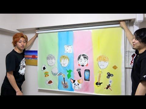 てつやくんがわざわざ岡崎から絵を描きに来てくれました