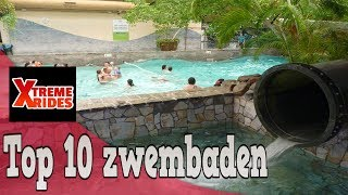 TOP 10 ZWEMBADEN NEDERLAND