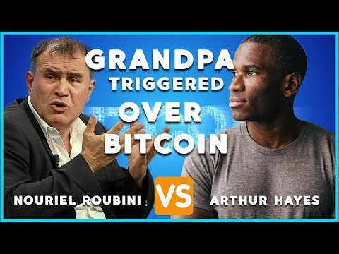 Grand Pa Triggered Over Bitcoin  Arthur Hayes Vs Nouriel Roubini