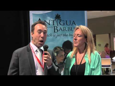 Antigua and Barbuda at the 2016 LA Travel Show