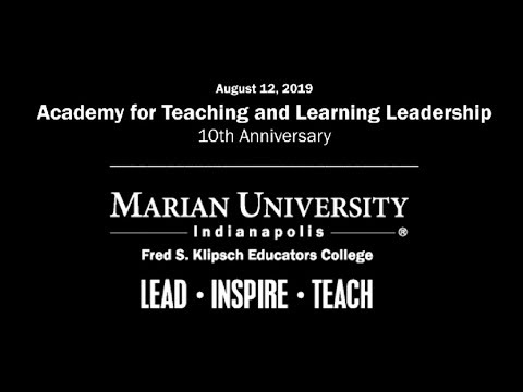 2019 Academy for Teaching and Learning Leadership Event