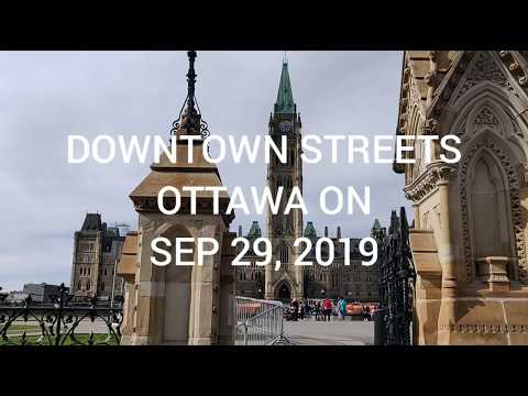 DOWNTOWN STREETS OF OTTAWA ON