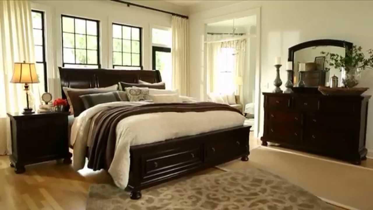 Porter Bedroom from Ashley - YouTube