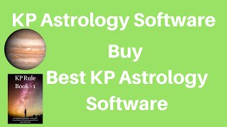 True Astrology Software for KP Astrology
