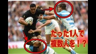 【ラグビーNZ代表  オールブラック】何このパワー。。圧倒的過ぎ【超絶】All black NZ