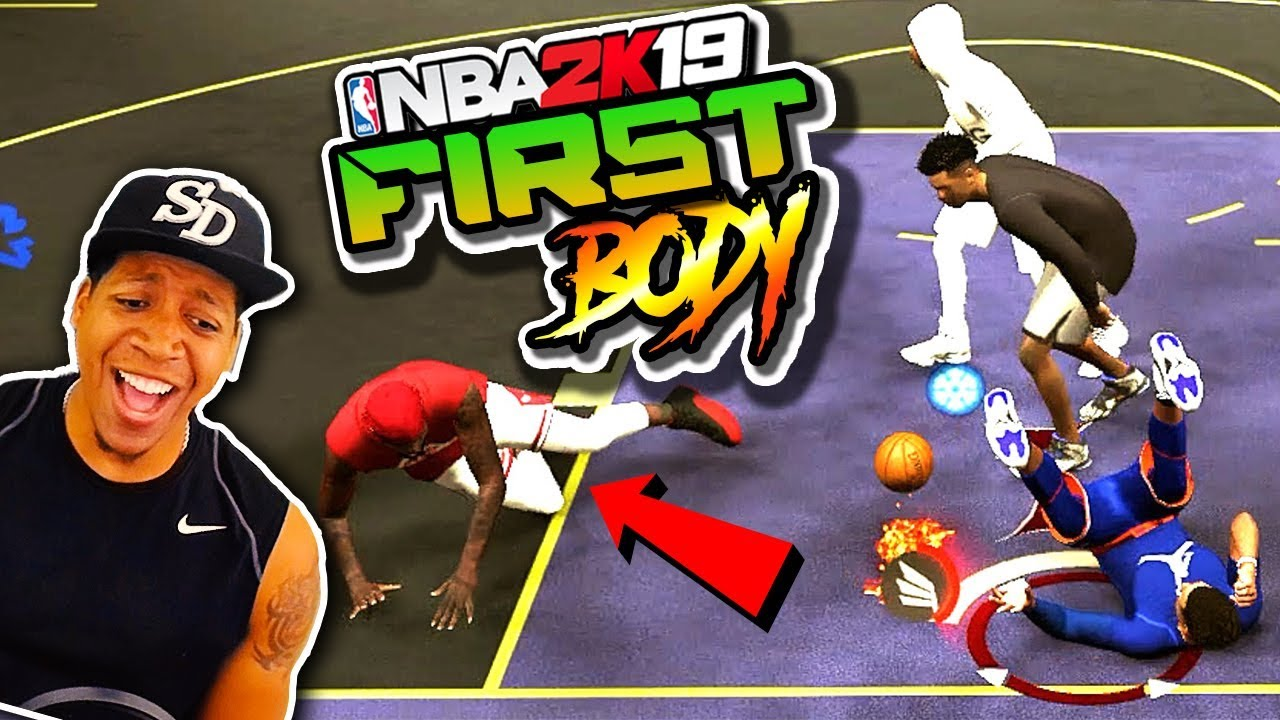 6'6 Shot Creating Slasher / MY FIRST BODY - NBA 2K19 3v3