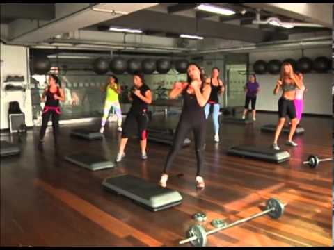 clase de step box video 2
