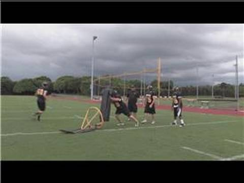 Football Tips : How to Become a Better Defensive End
