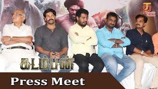 Kadamban Tamil Movie | Press Meet | Arya | Catherine Tresa | Yuvan Shankar Raja | Thamizh Padam