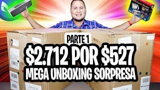 COMPRE LOTE CON 63 PRODUCTOS TECH $2712 POR $527 REGRESADOS POR AMAZON