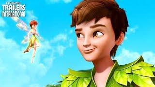 PETER PAN - A Procura Do Livro Do Nunca | primeiro trailer da animaçã