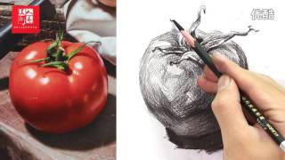 [Basic Drawing ] How To Draw Tomatoes