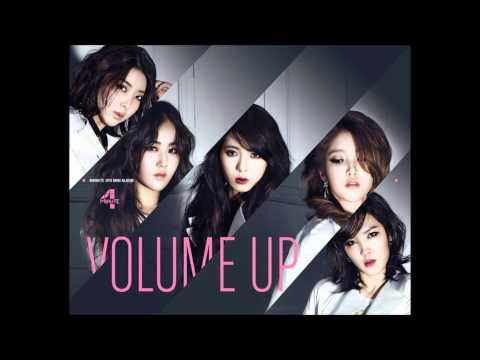 [HQ] 4MINUTE - VOLUME UP [FULL AUDIO]