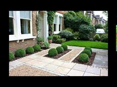 Front garden paving ideas youtube for Paved garden designs