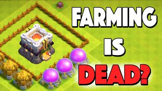 Clash of Clans - NO MORE FARMING? TOWN HALL SNIPING GONE + NEW SHIELDS! New Town Hall 11 Update News
