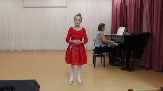 Фото Козлова Милана10л г  Новосибирск  неаполитанская нар песня обр  Т Каттрау Santa Lucia