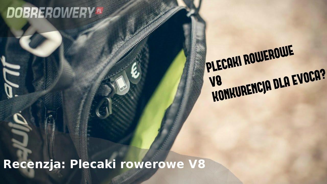 4582c5cd335d5 Recenzja: Plecaki rowerowe V8 - konkurencja dla Evoc'a? - YouTube