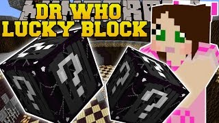 Minecraft: DR. WHO LUCKY BLOCK (DOCTORS, TIME FORGED WEAPONS, & MORE! ) Mod Showcase