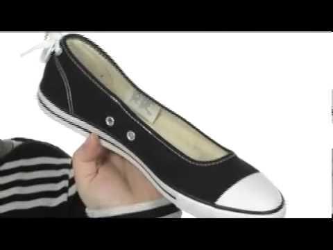 f7b8d62a6f41 Converse Chuck Taylor® All Star® Dainty Ballerina Slip-On Ox SKU  8078429 -  YouTube