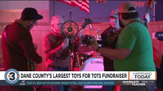 Dane County's largest Toys for Tots fundraiser