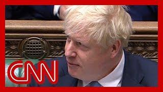 Boris Johnson compared to Donald Trump in UK parliament