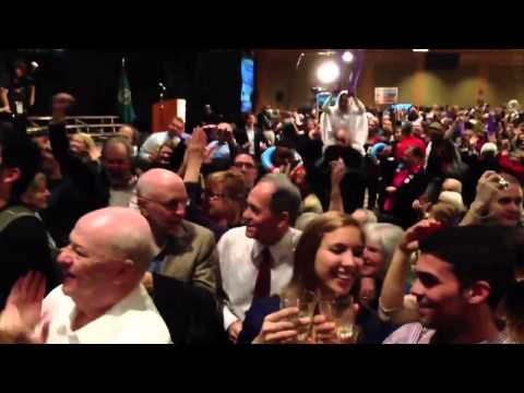 The Moment Obama Won Ohio and Re-Election 2012