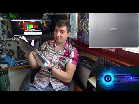 "Acer Swift 3 SF314-41-R647 за - 600$ - что не так с AMD Ryzen?! Обзор и тест 14"" FullHD ультрабука!"