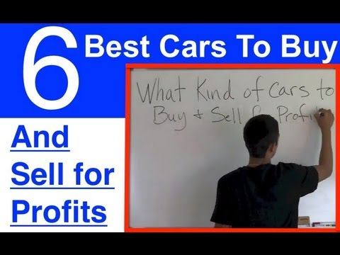 the 6 best cars to buy and sell for profit youtube. Black Bedroom Furniture Sets. Home Design Ideas