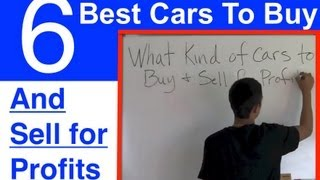 Best Cars Buy And Sell Profit