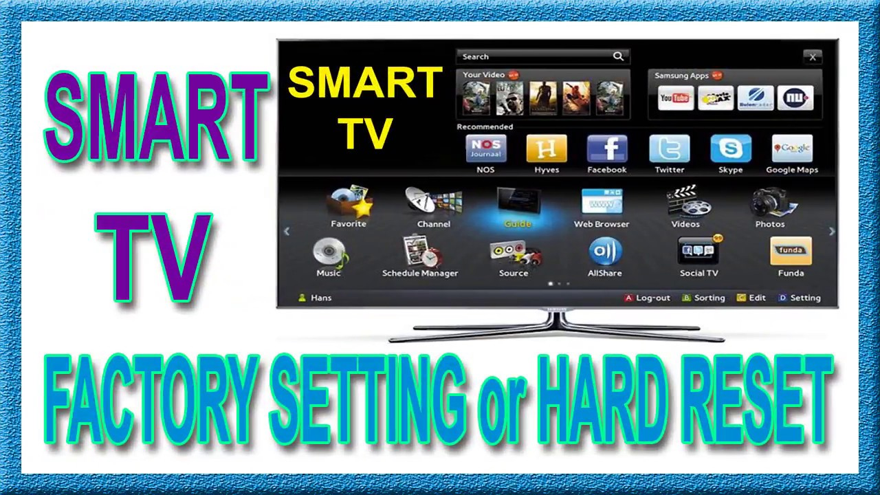 Any Smart TV | Android TV Factory Setting | Hard reset method