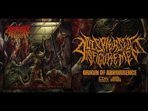 DISPLEASED DISFIGUREMENT - ORIGIN OF ABHORRENCE [OFFICIAL ALBUM STREAM] (2017) SW EXCLUSIVE