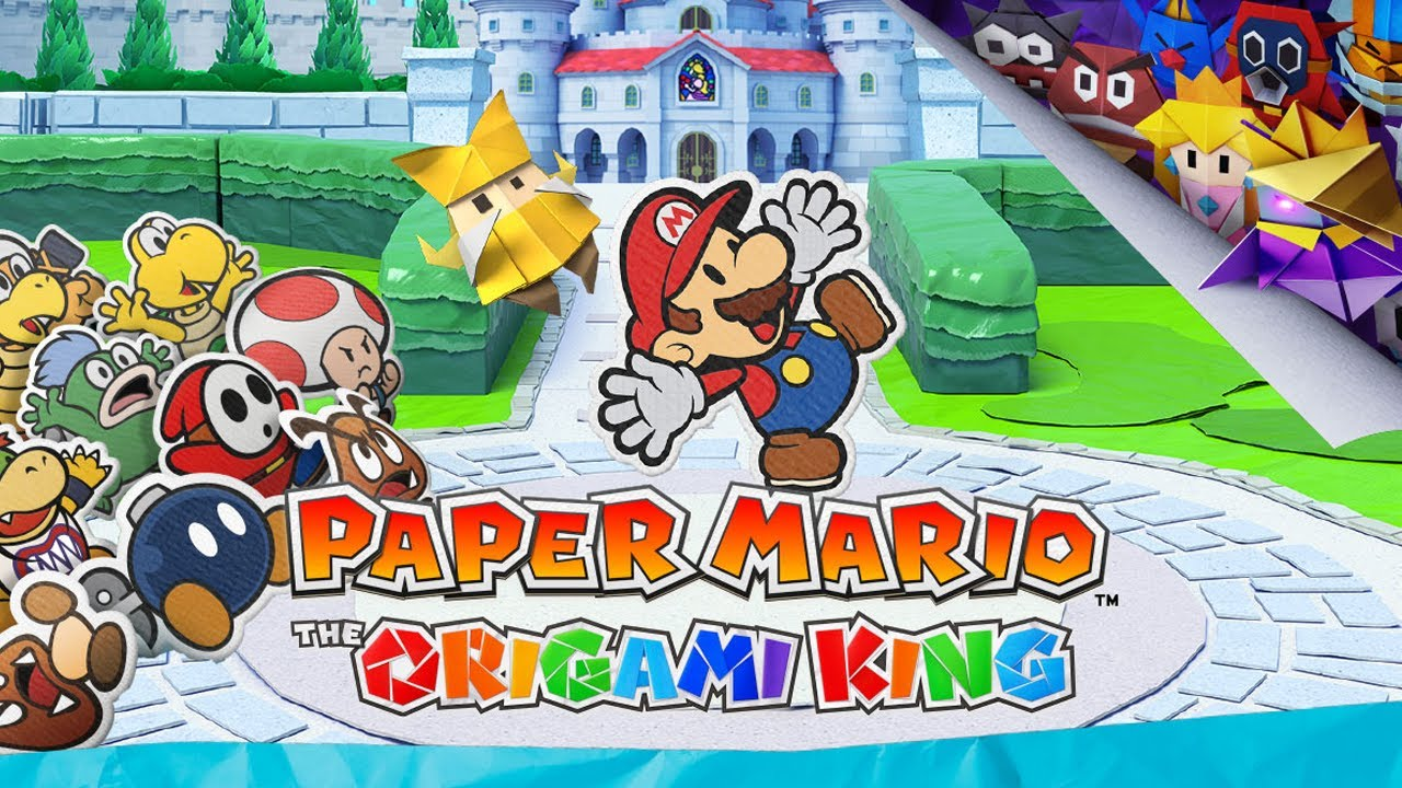 Paper Mario: The Origami King - Reveal Trailer - YouTube