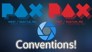Conventions For 2018-19: PAX West, PAX East & More!