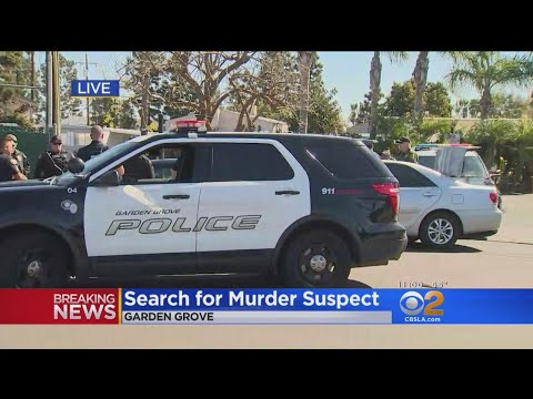 Suspect At Large In Costa Mesa Stabbing Death