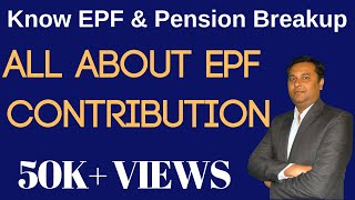 All About EPF Contributions {Hindi} |  Know EPF & Pension Breakup in Provident Fund in Hindi thumbnail