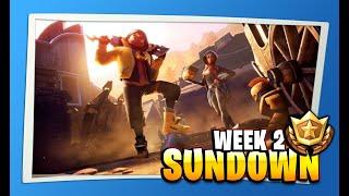 Secret Battle Star Location Season 10 Week 2 (Sundown Challenges in Fortnite)